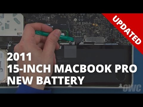 How to Replace the Battery in a 15-inch MacBook Pro 2011 (Updated)