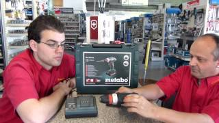 Metabo Kompaktschrauber BS18 Quick NEUHEIT