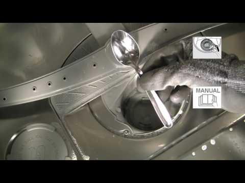 Vaatwasser - Hoe deblokkeer ik de afvoerpomp van mijn Bosch vaatwasser?