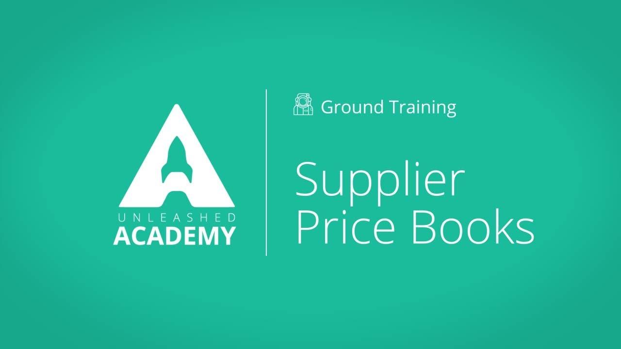 Supplier Price Books YouTube thumbnail image
