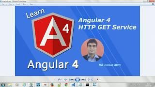 Angular HTTP GET Service (Angular 4) -   #10