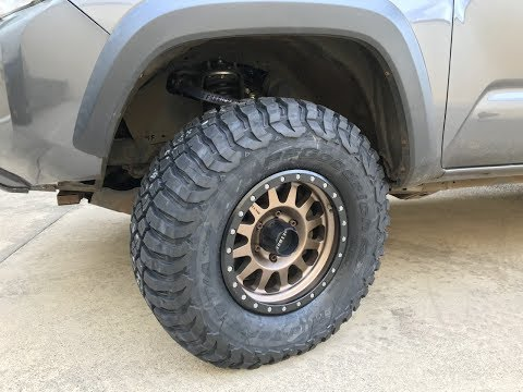 Will 33s Fit Toyota Tacoma