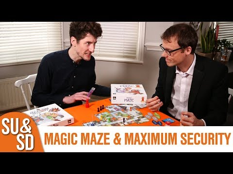 Shut Up & Sit Down reviews: MAGIC MAZE & Maximum Security expansion