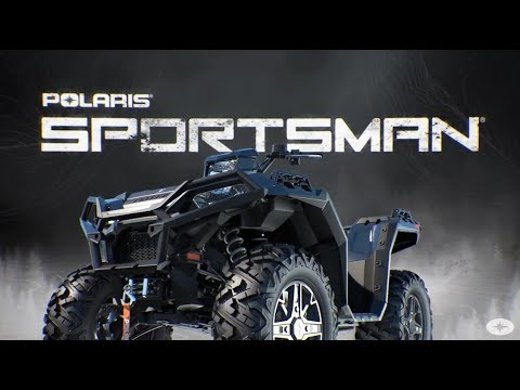 2020 Polaris Sportsman 850 Premium in Bigfork, Minnesota - Video 1