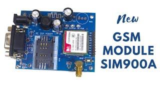SIM900A GSM Module/pin configuration/application/features/Reviwe Tutorial