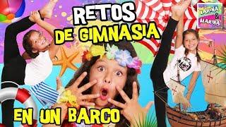 🤸♀️ ¡RETOS De GIMNASIA RÍTMICA En El BARCO! 🛳 🎀 GIMNASIA RÍTMICA Y GIMNASIA ARTÍSTICA En VERANO