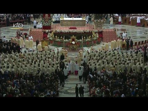 Messe de la Nuit célébrée par le Pape François (2016)