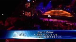 David Cook American Idol Performances