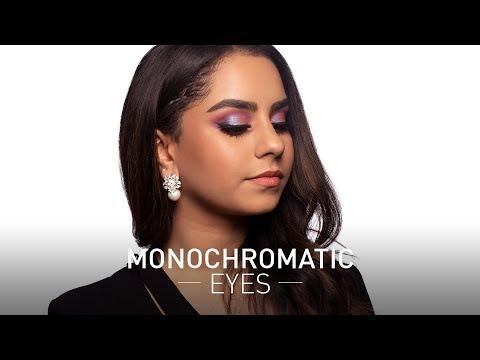Purple Monochromatic Look Ft. Resham   MyGlamm