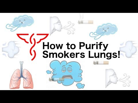 How to Purify Smokers Lungs