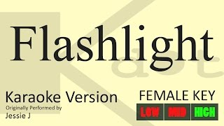 Jessie J - Flashlight Karaoke (Male Key | Low) - YouTube