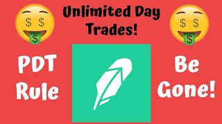How to AVOID the PDT Rule on Robinhood! Get UNLIMITED Day Trades! (99% of People Don't Know This!)