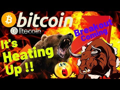 👀BITCOIN BREAKOUT COMING!!👀bitcoin litecoin price prediction, analysis, news, trading