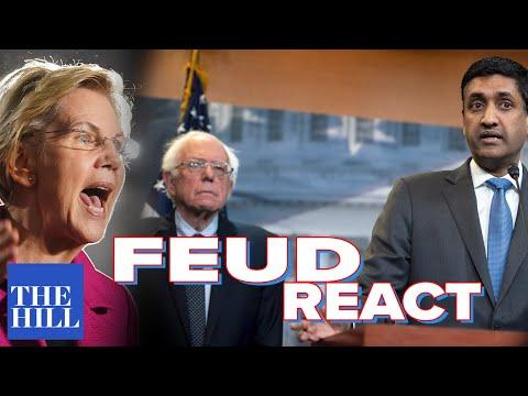 Rep. Ro Khanna reacts to Bernie/Warren feud