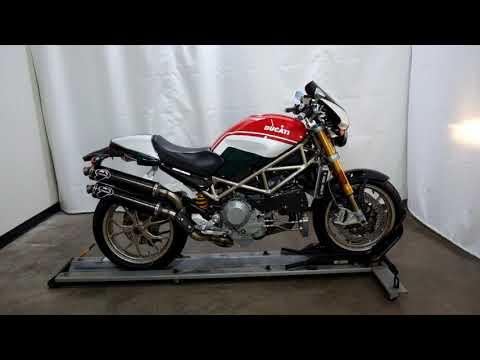 2008 Ducati Monster S4R S Tricolore in Eden Prairie, Minnesota - Video 1