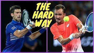 109 - Djokovic vs Medvedev - 4 Rnd AO 2019 - Extended