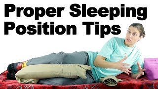 Proper Sleeping Position Tips - Ask Doctor Jo