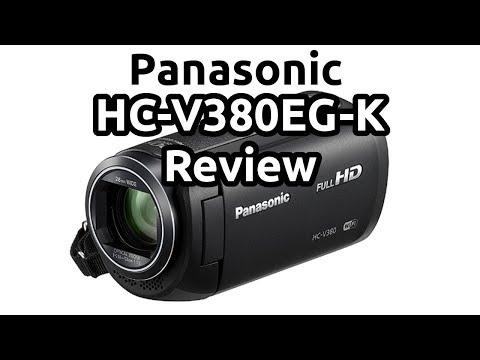 Panasonic HC-V380EG-K Test Full HD Camcorder Review