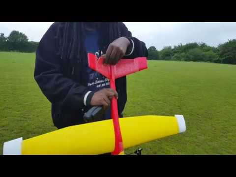 lidl-glider-my-1st-idea-day-1-differential-thrust-rc-plane