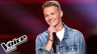 """Adam Kubera - """"As Long As You Love Me"""" - Przesłuchania w ciemno - The Voice Kids 2 Poland"""