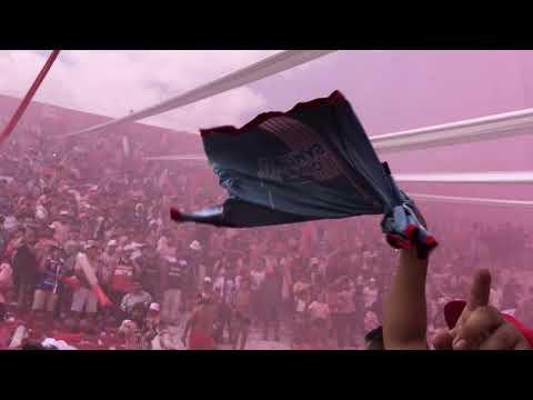 """""""LOS ANDES 1-0 temperley. Recibimiento de la hinchada mas grande del sur"""" Barra: La Banda Descontrolada • Club: Los Andes"""