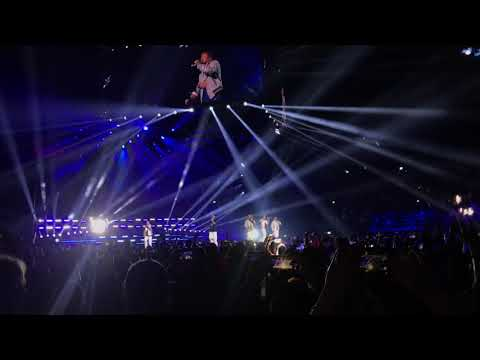 4K Backstreet Boys - Don't go breaking my heart + Larger than life + fine concerto(Milano Tour 2019)