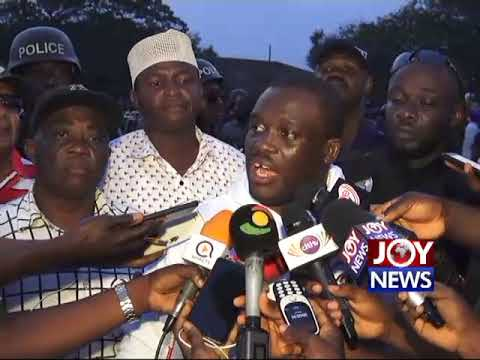 'The vision is to kick out Akufo-Addo's incompetent government' - Sam George.