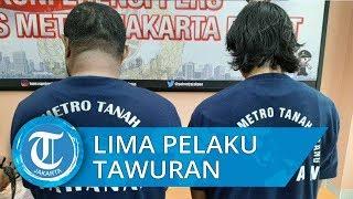 Polres Metro Jakarta Pusat Tangkap 5 Pelaku Tawuran di kawasan Tanah Abang