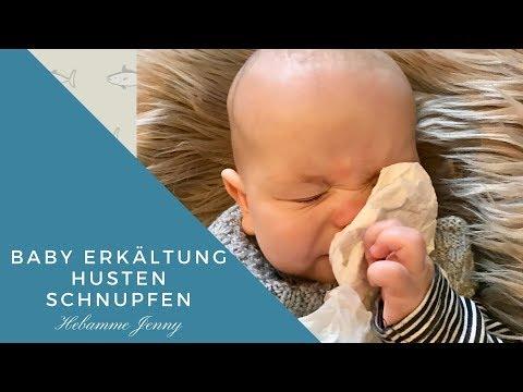 Baby Erkältung, Husten, Schnupfen, was Hilft ? Hebammentipps