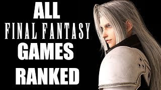 Ranking All Mainline Final Fantasy Games From Worst To Best