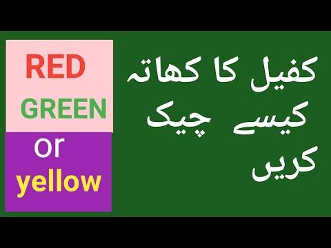 Download Saudi Iqama Fine Checksaudi Iqama Red Green Yellowsaudi