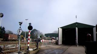 preview picture of video 'Dutch Railroad Crossing/ Level Crossing/ Spoorwegovergang Simpelveld'