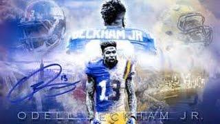 "Odell Beckham Jr. | "" Up All Night "" - By Drake ft Nicki Minaj | Highlights [ HD ]"