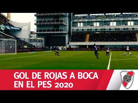 VASELINA ETERNA: el golazo de ROJAS, en el PES 2020