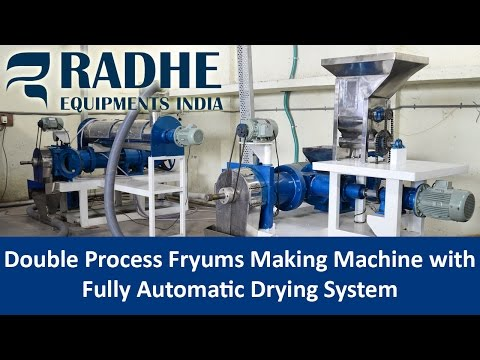 Fryums Processing Machine