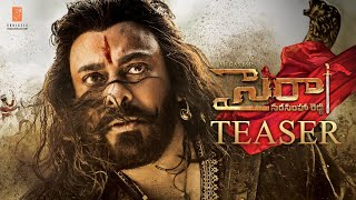 Sye Raa Narasimha Reddy - Official Telugu Trailer