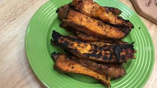 Spicy Grilled Sweet Potatoes