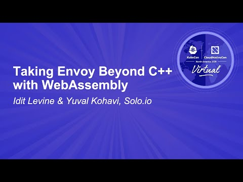 Image thumbnail for talk Taking Envoy Beyond C++ with WebAssembly