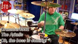 The Arkells Oh, the boss is coming! [Drum Cover]