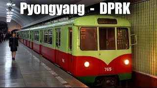 preview picture of video 'PYONGYANG METRO - Die U-Bahn in Pyongyang (23.04.2014)'