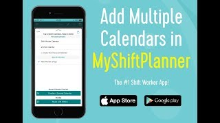 Adding Multiple Calendars in MyShiftPlanner App