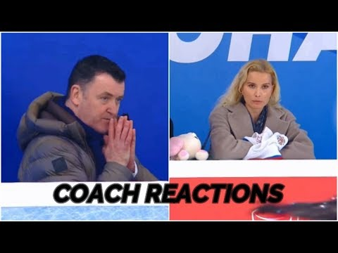 Brian Orser and Eteri Tutberidze Russian Nationals FS REACTION