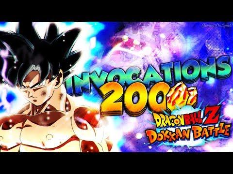 INVOCATION DOKKAN BATTLE GOKU UI & JIREN !