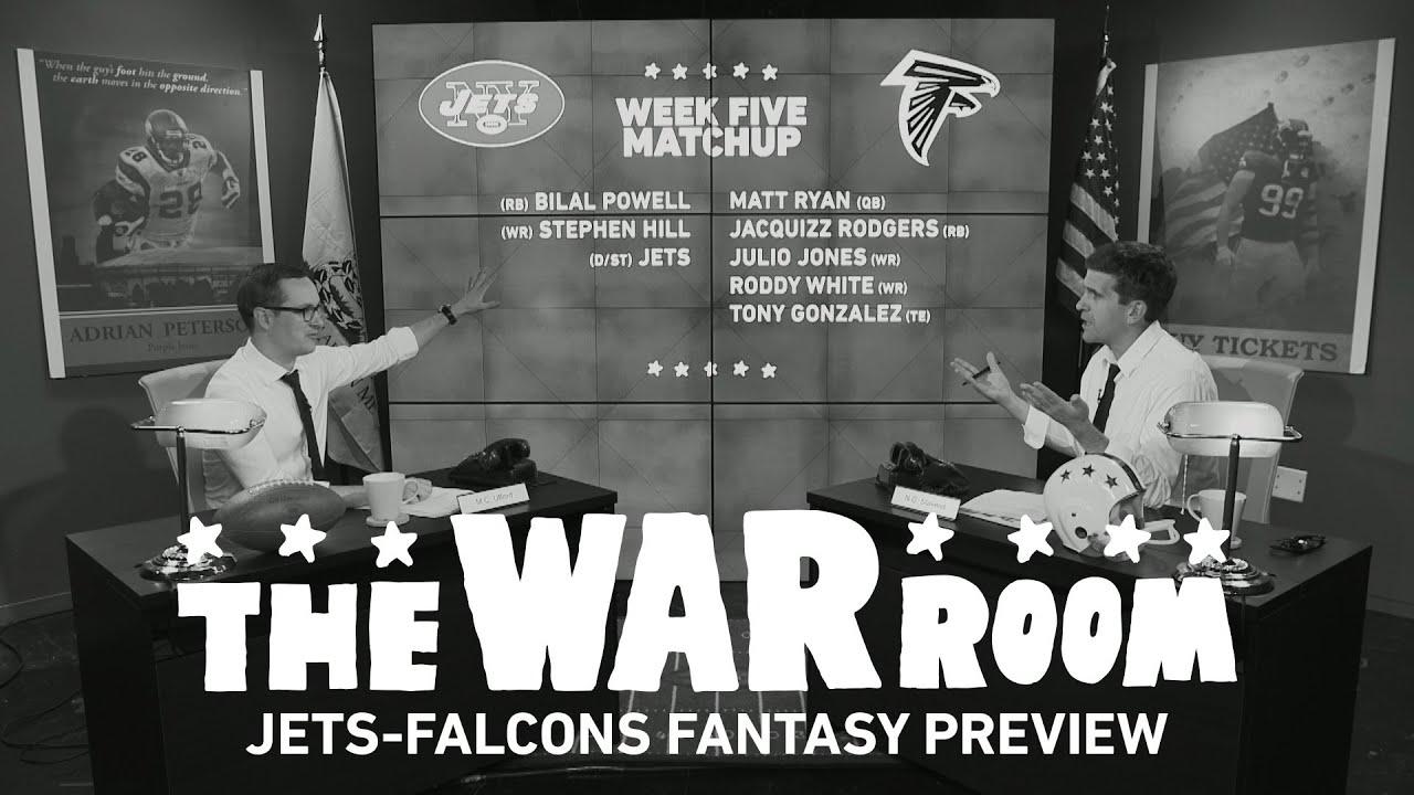 Jets vs. Falcons Monday Night Football Fantasy Preview - The War Room thumbnail