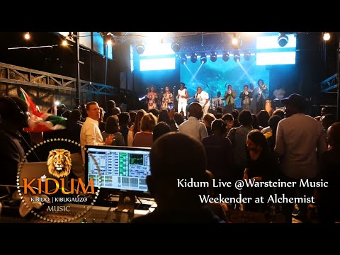 Kidum Live @Warsteiner Music Weekender at Alchemist