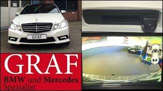 Rückfahrkamera nachrüsten Mercedes E-Klasse W212