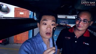 UltraRacing  Testimonial: Why MPV car such as Vellfire is better with UltraRacing Stabilizer Bar?