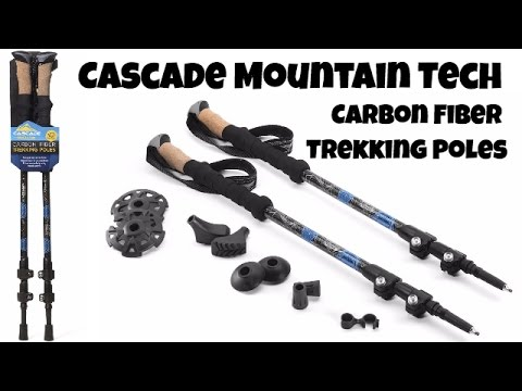 Gear Review: Cascade Mountain Tech Carbon Fiber Trekking Poles