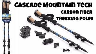 Gear Review: Cascade Mountain Tech Carbon Fiber Trekking Poles