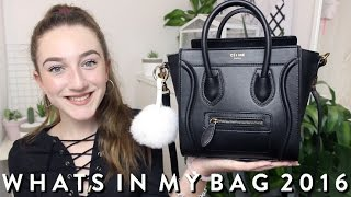 WHAT'S IN MY BAG // 2016